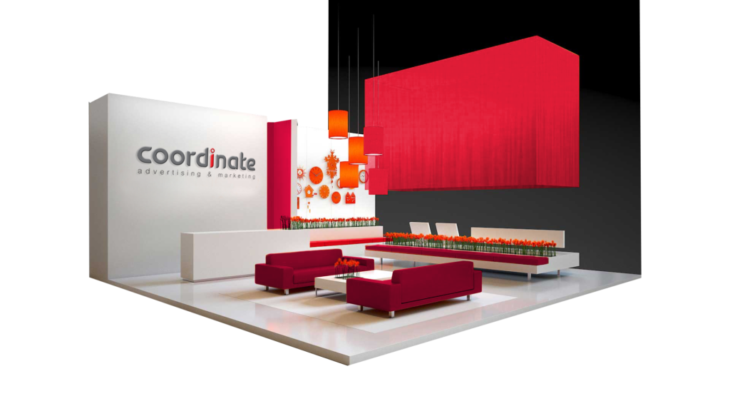 Marketing Exhibition Stands : Advertising marketing agency top exhibition stand design