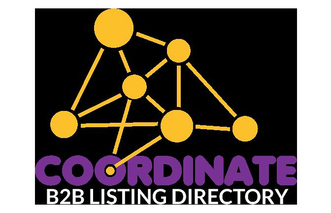 BEST Listing Website UAE Coordinate B2B Listing Directory Logo